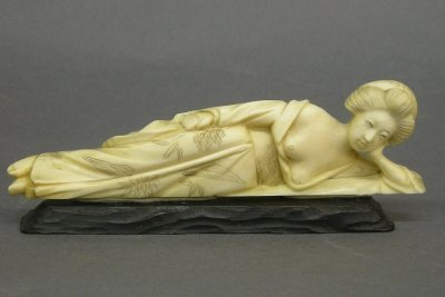 11: Carved Ivory maiden