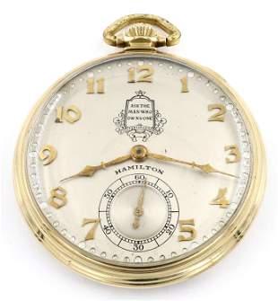 14k Gold Packard Motor Co. Service Watch