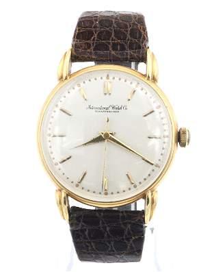 IWC 18k Gold Wristwatch