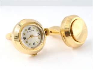 Blancpain 14k Cufflink Watch