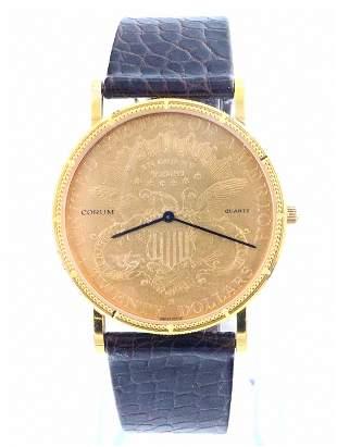 Corum $20 Gold Coin Wristwatch