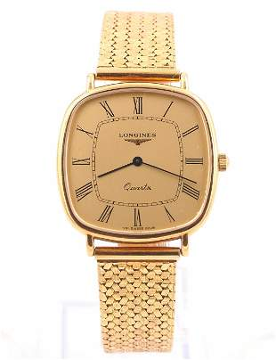 Longines 18k Wristwatch