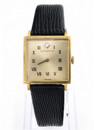 Longines 18k Gold Wristwatch