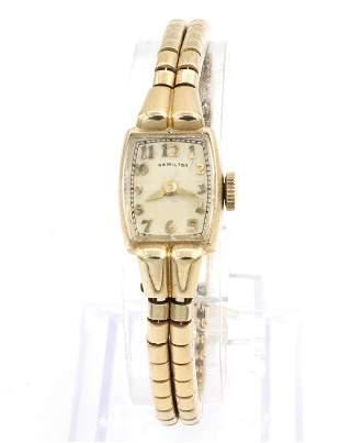 Hamilton 14k Ladies Wristwatch