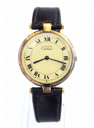 Cartier Must De Vendome Wristwatch