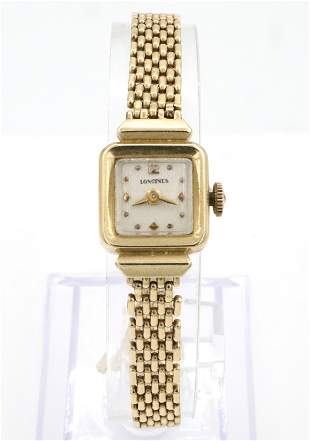 Longines 14k Gold Ladies Wristwatch