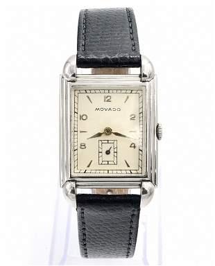 Movado Tank Wristwatch