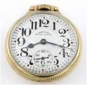 Hamilton 992B Railroad Pocket Watch