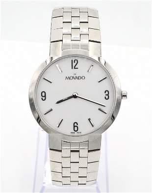 Movado Gentleman's Wristwatch