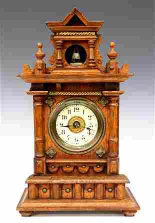 German Cuckoo Shelf Clock