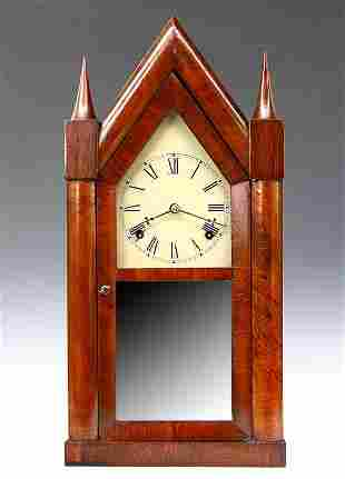 Chauncey Boardman Fusee Steeple Clock