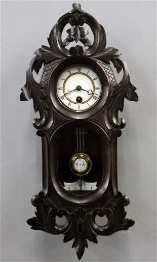 Mini German Black Forest Wall Clock