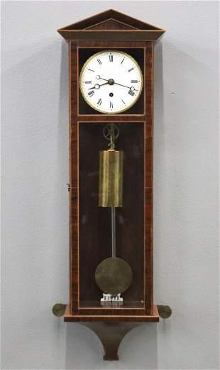Mini Vienna Biedermeier Wall Clock