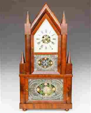 Birge & Fuller Wagon Spring Shelf Clock