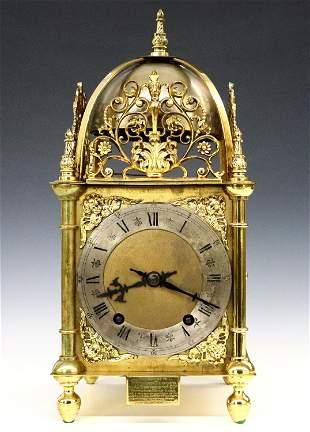 W & H Lantern Clock