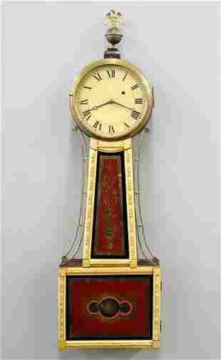 American Banjo Clock