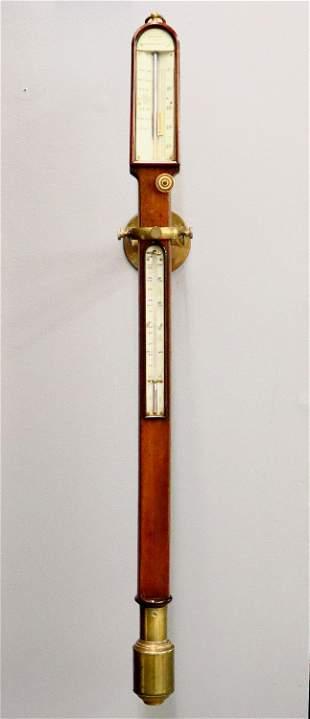 Cummens Gimbaled Ship's Barometer