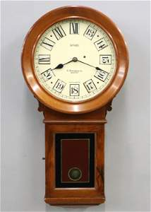 Rare Howard Kosmic 24-hr Wall Clock