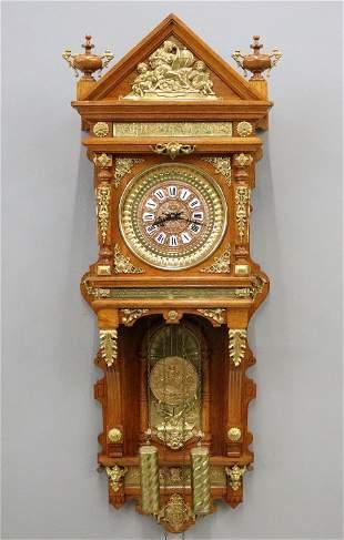 Ansonia Antique Hanging Clock