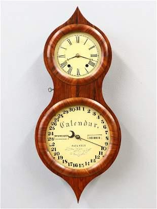 Seth Thomas Peanut Calendar Clock