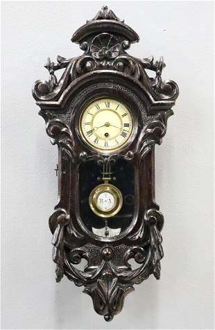 Gustav Becker Mini Wall Clock