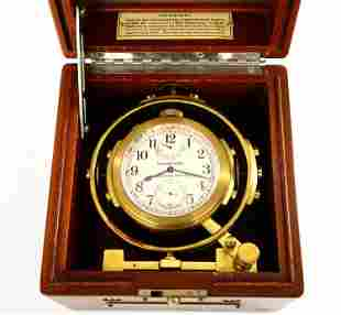 Hamilton Model 22 Cased Deck Watch