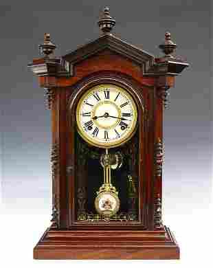 Welch, Spring & Co Lucca V. P. Shelf Clock