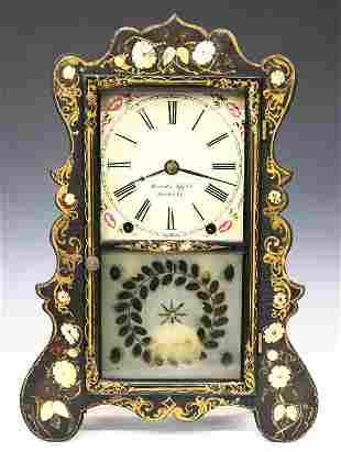 Brewster & Ingrahams Shelf Clock
