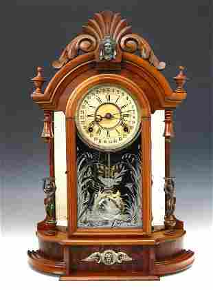 Gilbert Occidental Shelf Clock