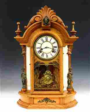 Waterbury Oxford Shelf Clock