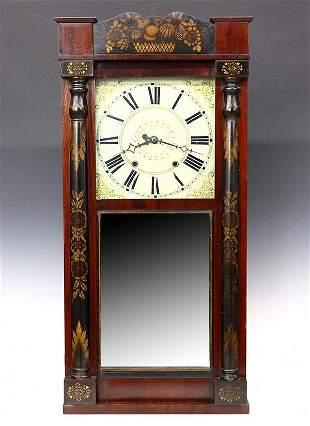 Jerome & Darrow shelf clock