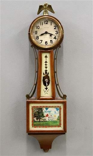 Mini Waltham Banjo Clock