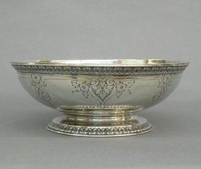 10: Gorham Sterling bowl