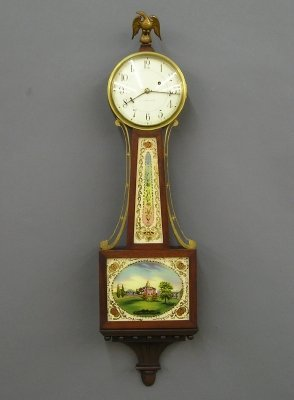 11: Waltham Banjo clock