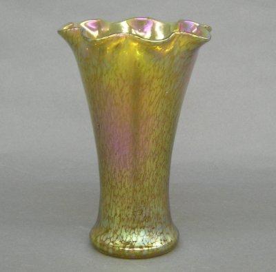 20: Loetz Art Glass vase
