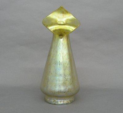 21: Loetz Art Glass vase