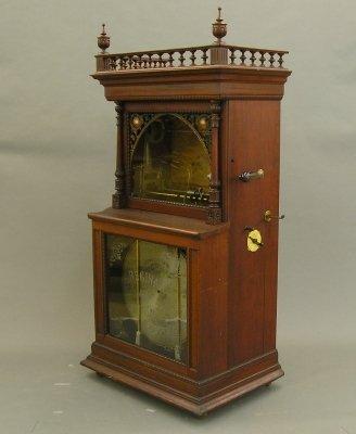 23: Regina music box.