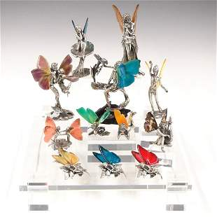 12 Silver Sculptures