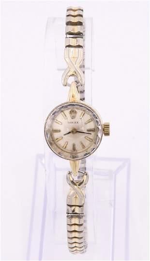 Rolex 14k Ladies Wristwatch