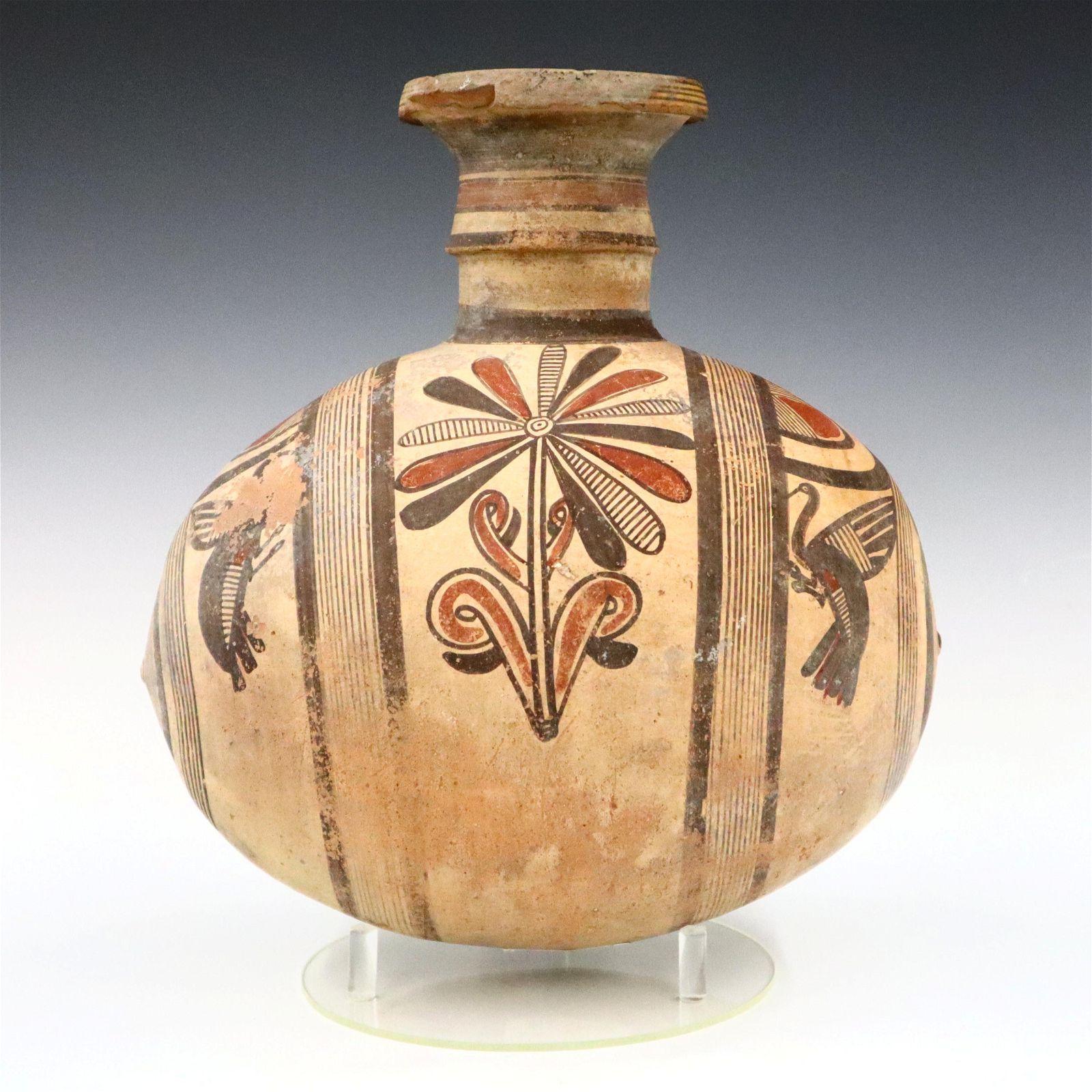 Greek Terracotta Flask
