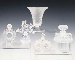 5 Lalique  Pieces