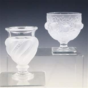2 Lalique Vases