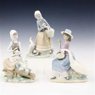 3 Lladro Figures