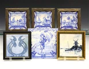 6 Ceramic Tiles