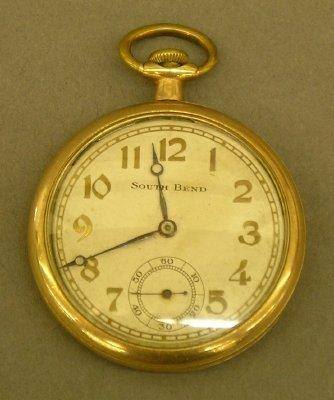 3: A South Bend pocket watch