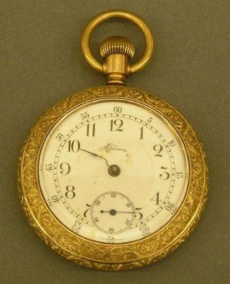 4: New England Watch Co pocket watch