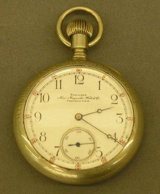10: Palliard Non-magnetic pocket watch.