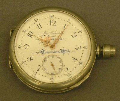 16: Borel-Courvoisier pocket watch