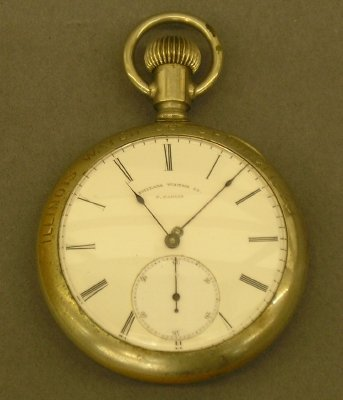 17: Philadelphia Watch Co pocket watch