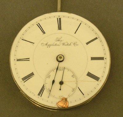 21: Appleton watch movement